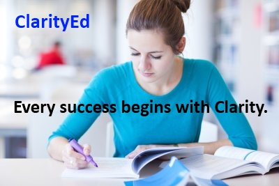 ClarityEd student preparing for SAT exam